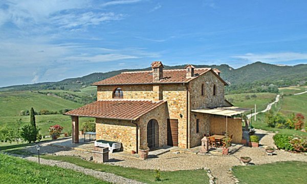 2 familie-huis in een borgo, Montaione, Toscana