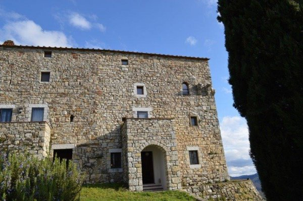 appartement in middeleeuws fort, Lecchi in Chianti, Toscana